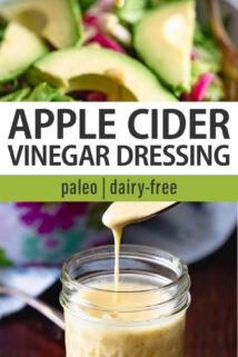 apple cider vinegar collage