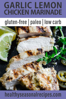 sliced chicken breast text overlay