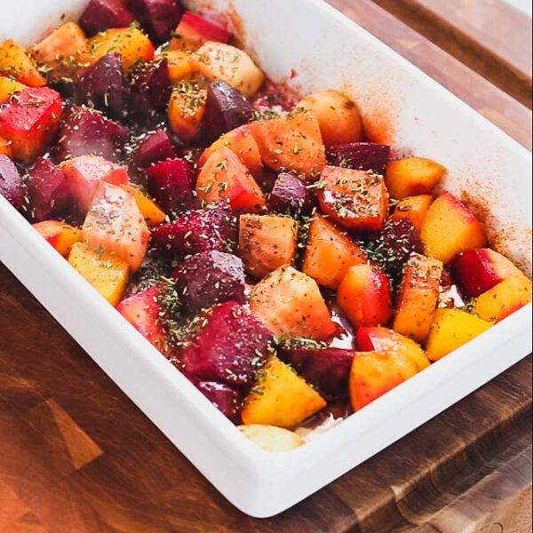 the thyme and balsamic on the beets