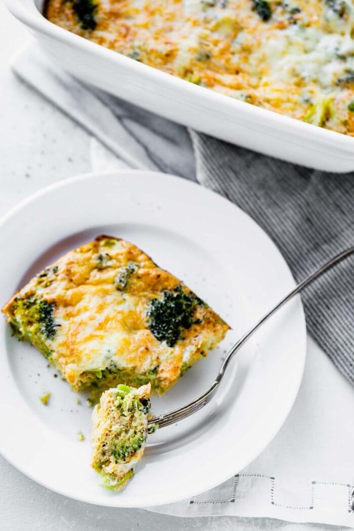 broccoli egg bake
