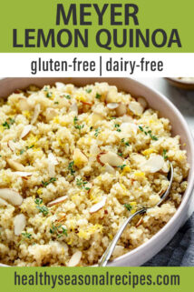 meyer lemon quinoa text overlay
