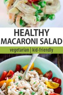 macaroni salad text overlay