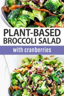 Broccoli Salad text overlay