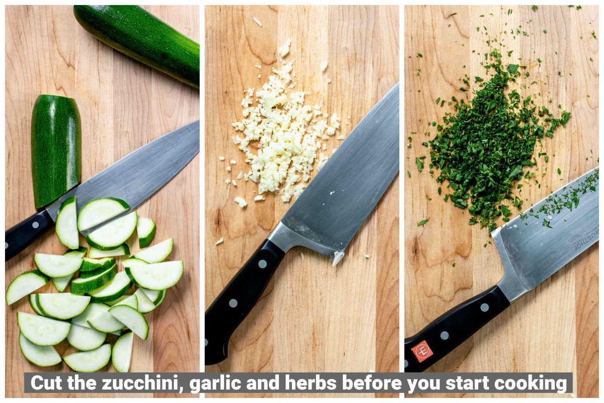 prepared ingredients