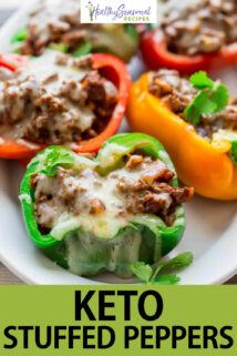 stuffed peppers text overlay