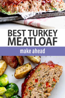turkey meatloaf text overlay