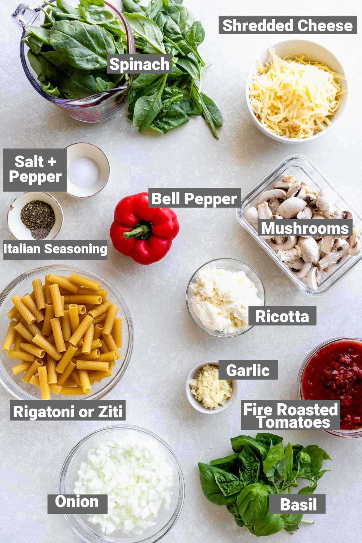 the ingredients with text overlay