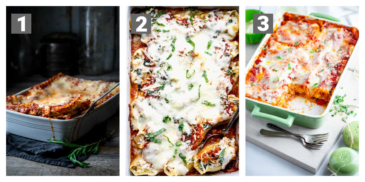 some additional baked pasta recipes