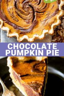 pie collage with text