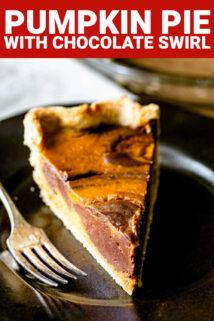 pie slice with text