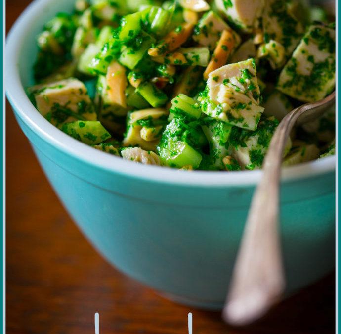 chimichurri chicken salad