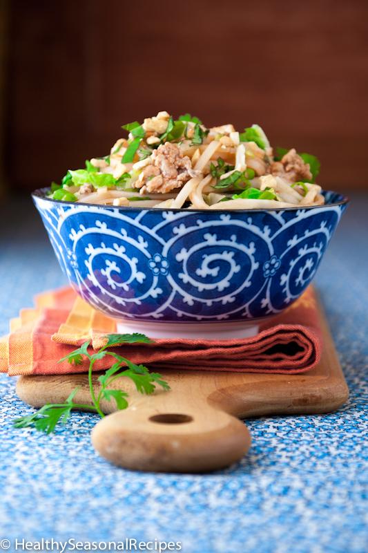 Turkey pad thai healthy seasonal recipes turkey pad thai forumfinder Images