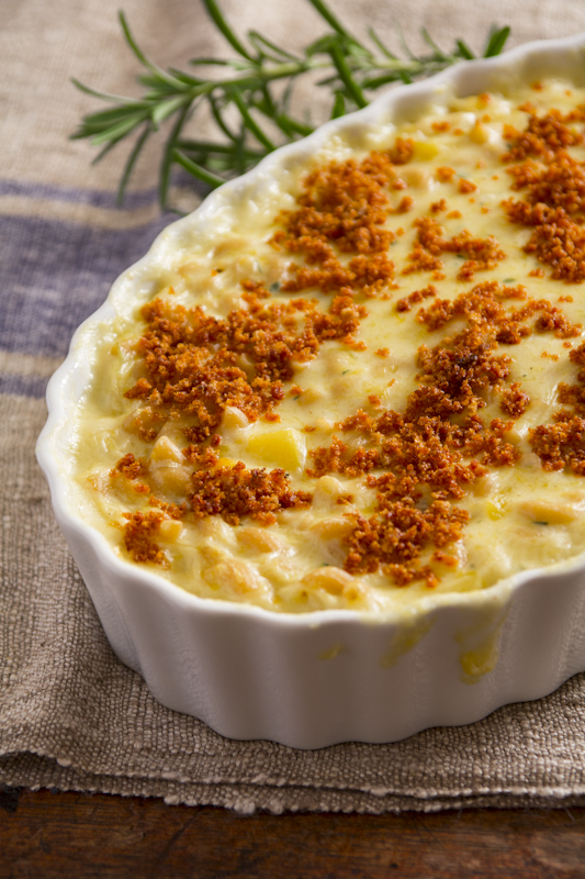 macaroni and cheese with butternut squash