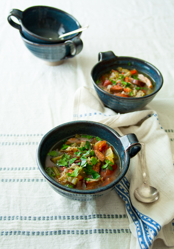 slow cooker chicken gumbo