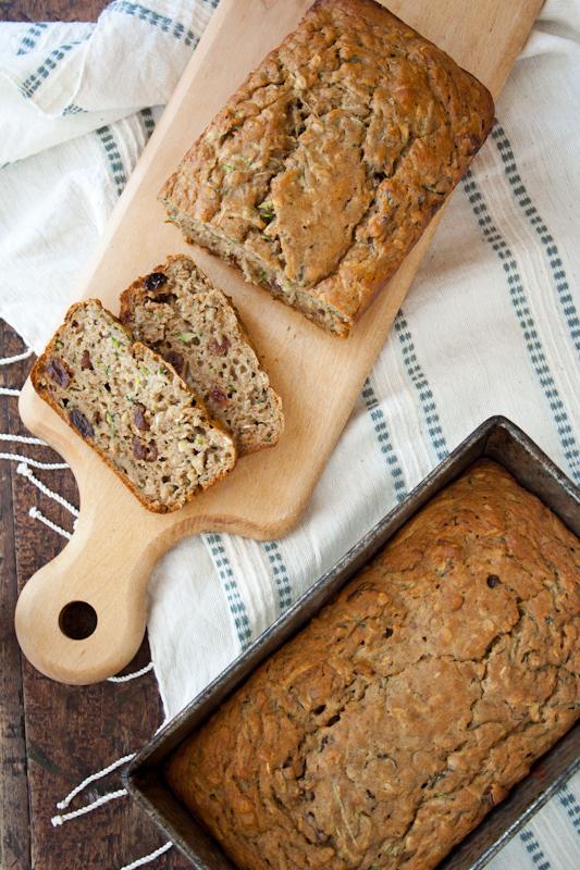 zucchini oatmeal bread - Healthy Seasonal Recipes