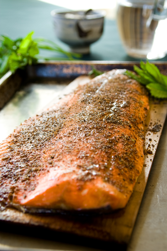 This Garam Masala Cedar Plank Salmon is super simple to make (even ...