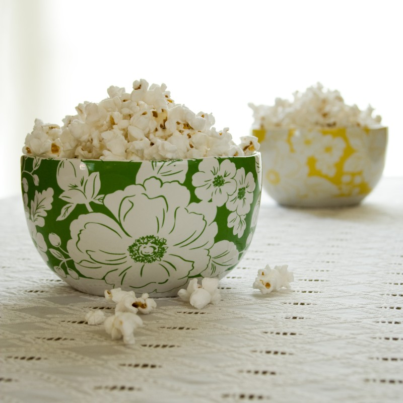 foolproof stove-top popcorn