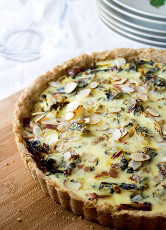 ... swiss chard leek goat leek and swiss chard tart leek and goat cheese