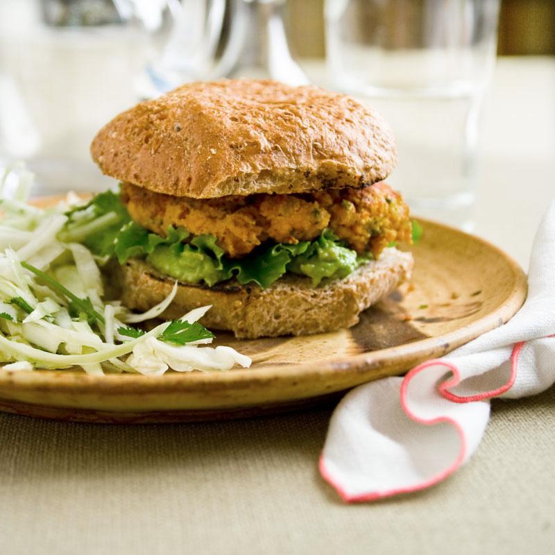 southwest bean burger