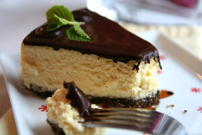 Peppermint Patty Cheesecake