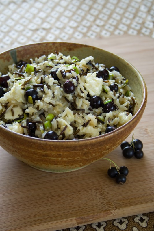 Brown Rice Salad with Fresh Currants