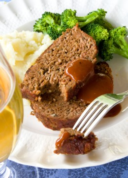 smoky barbecue meatloaf