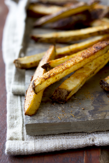 how to make skinny fries in oven