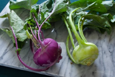 kohlrabi from our CSA