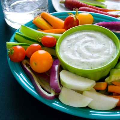 ultra creamy low fat ranch dip