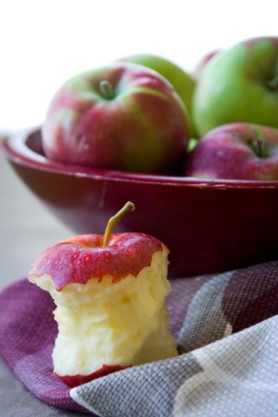 home-made applesauce