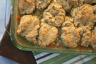 Turkey and Biscuit Casserole