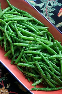 Orange Ginger Green Beans