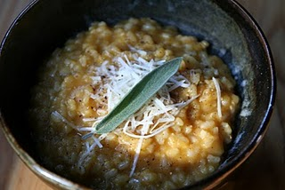 In Season-- Pumpkins! Brown Rice Pumpkin Risotto