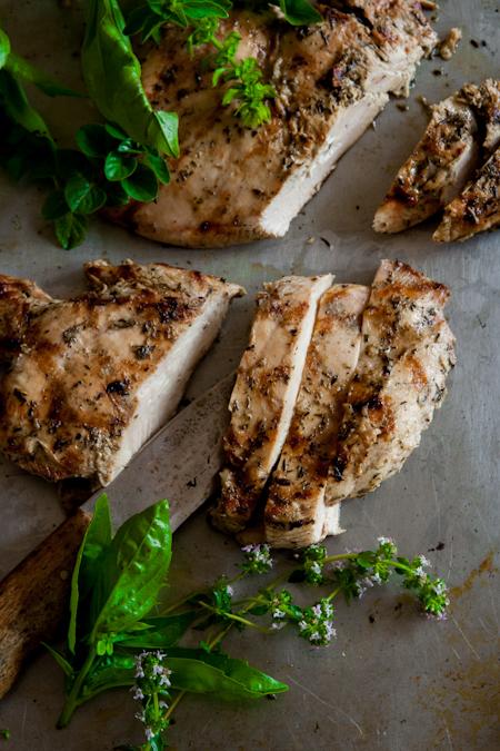 garlic-herb-marniated-chicken
